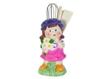 Подставка под лопатки Детки с цветами