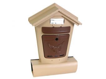 Ящик почтовый Элит бежевый