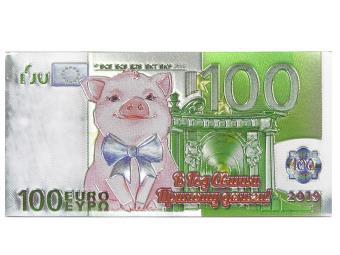 Магнит Банкнота 100 Евро Символ Года