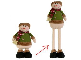 Снеговик, Дед мороз Север сдвижные ноги 70см